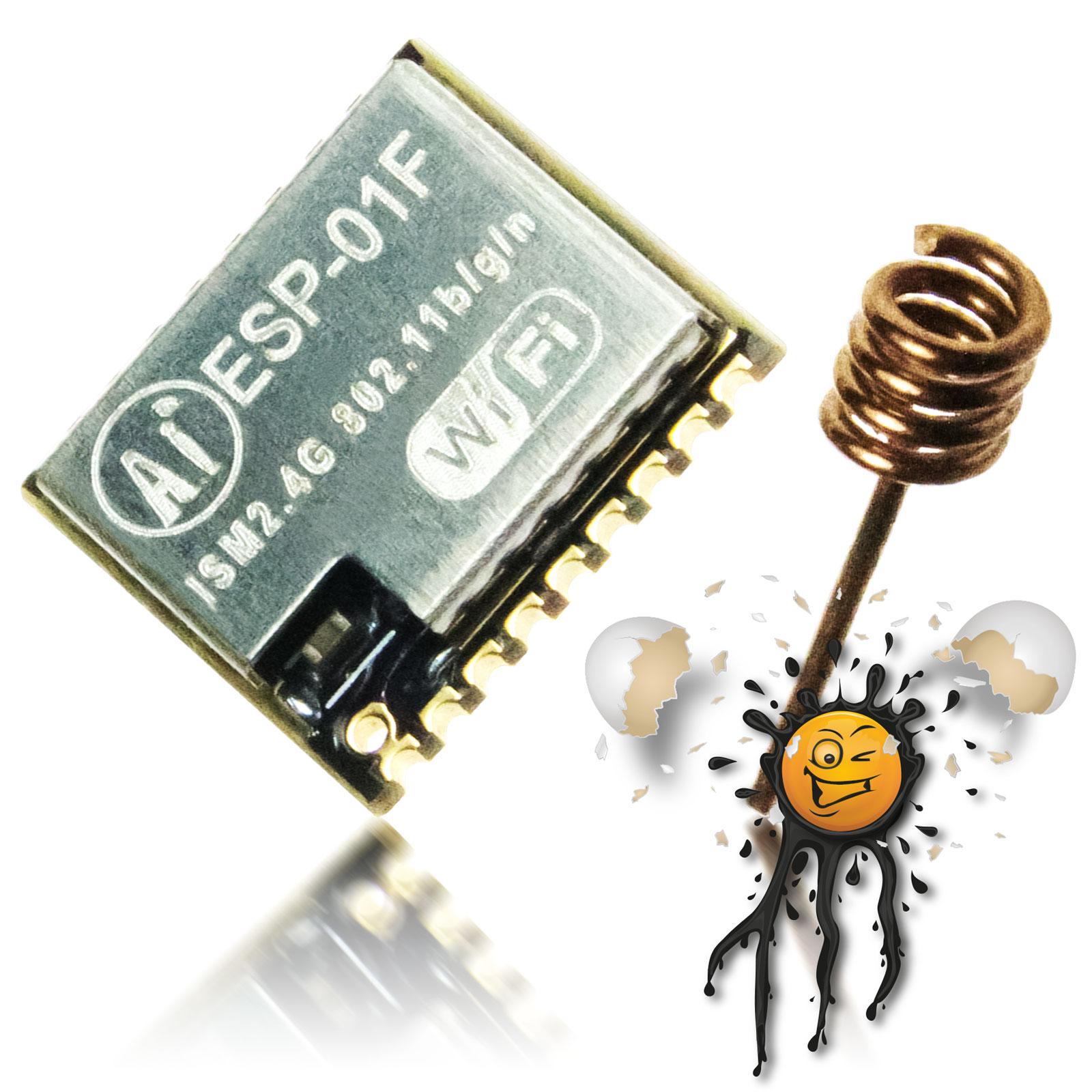 ESP-01F ESP8285 Modul inkl. Antenne