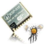 Micro ESP MCU Modul 10x11 mm ESP-01F