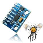 accelerometer SPI I2C sensor module