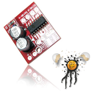 MX1508 Dual H Bridge Module