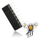 PCF8574 I2C 8-bit Bus Expander Dip 16