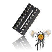 Stecksockel 2-reihig 8 Pin