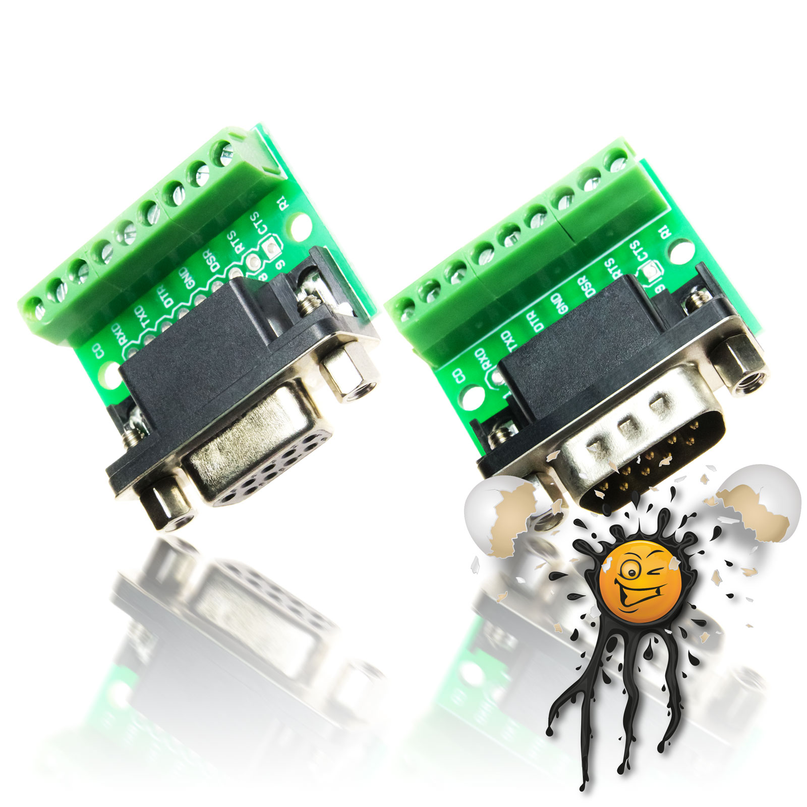 Serial UART RS232 DB9 Adapter