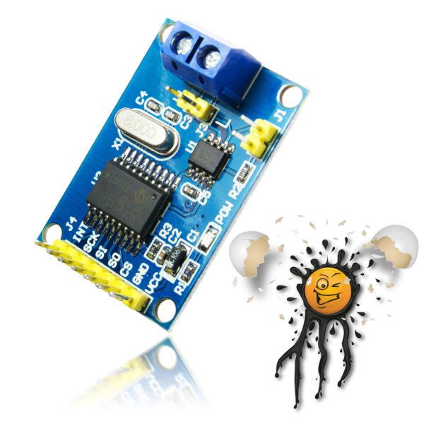 CAN Bus SPI Modul MCP2515 TJA1050