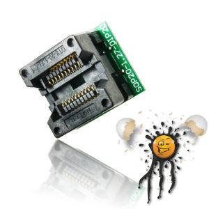 SOIC20 SOP20 to 20 Pin Socket Converter Module