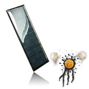 5.5V polycrystalline Solar Panel 65mA