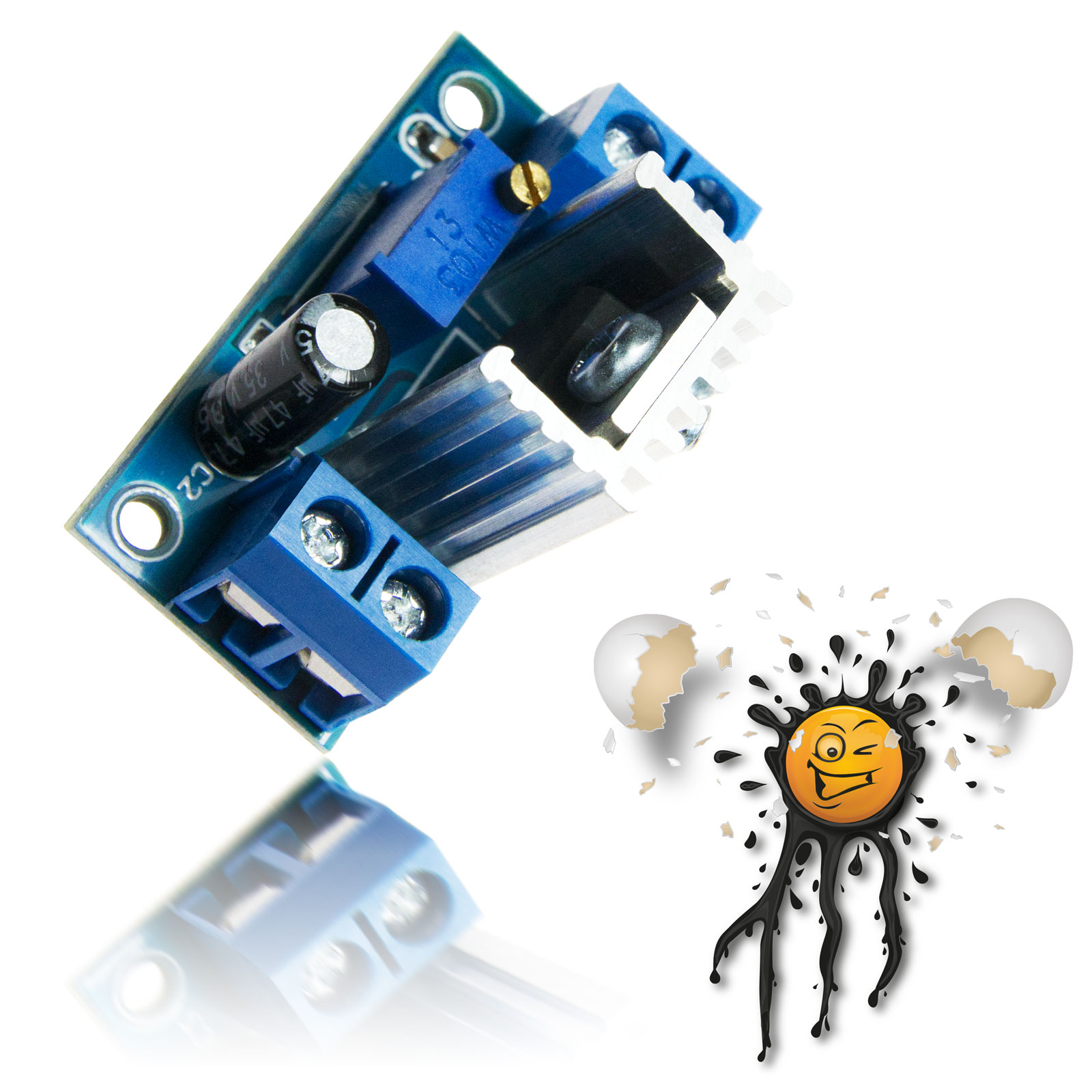 LM317 DC-DC Step Down Buck Converter