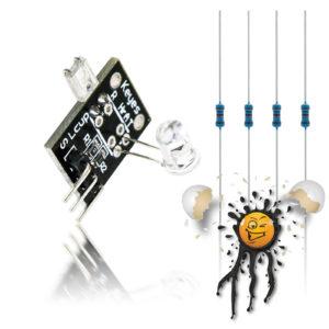 ESP8266 ESP8285 ESP32 Herzschlag Sensor 0-1V ADC Set