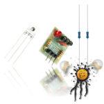 5V NIR 650nm Laser Sensor Modul Set