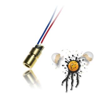 5V NIR 650nm Laser Diode 5mW