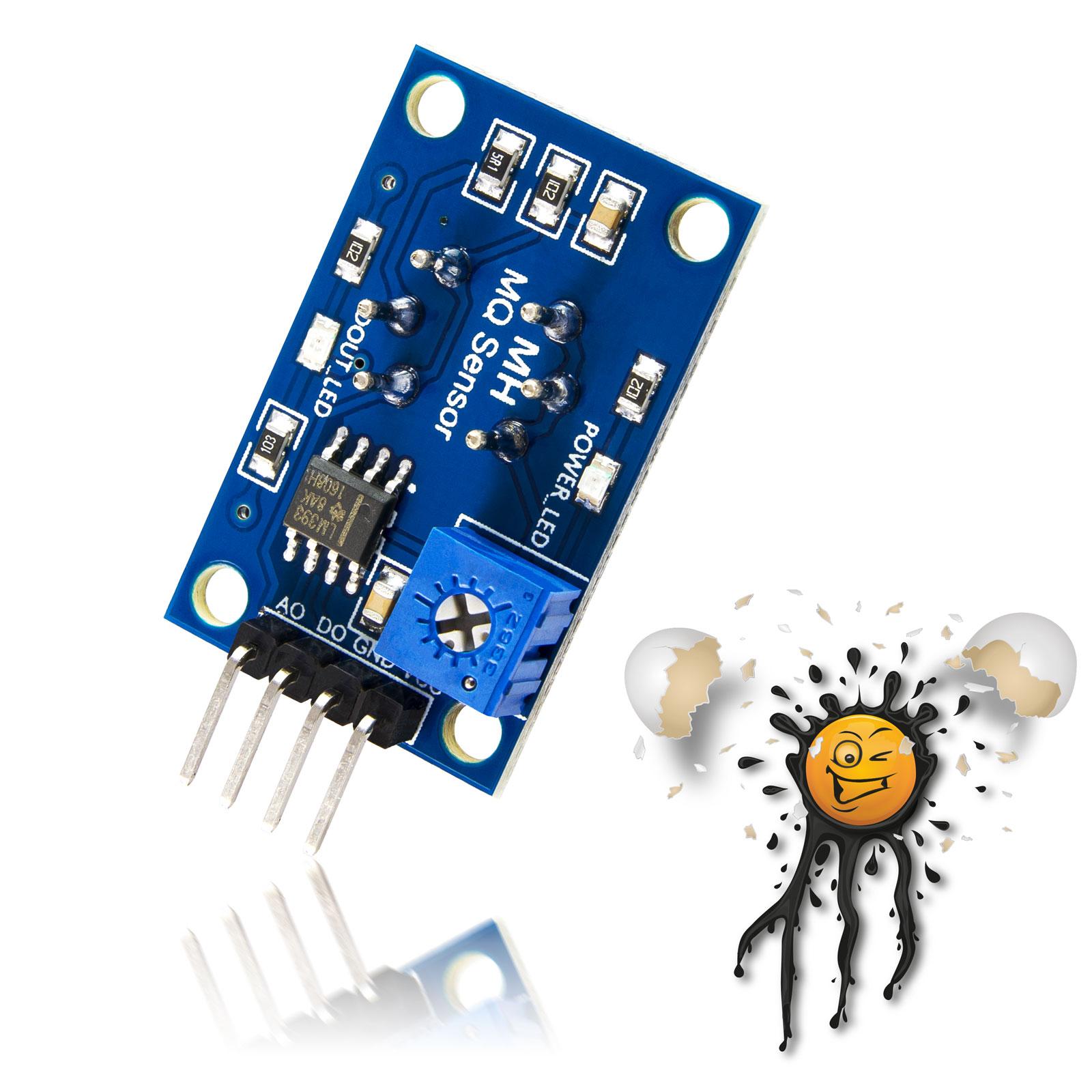 5V ESP8266 Arduino Gas Sensor Module