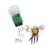 mini low power PIR Sensor Modul AM312