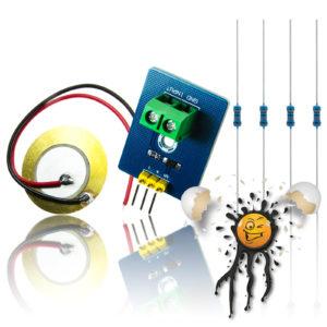 Piezo Sensor Modul Set 3.3V-5V 1V ADC