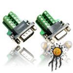 Serial UART RS232 DB9 Adapter mini