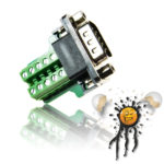 DB9 RS232 serial male mini Adapter