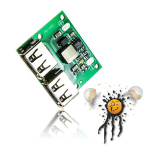 9V 12V 24V to 5 Volt USB Spannungswandler