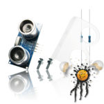 HC-SR04 Ultraschall Sensor Set 3.3V
