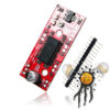 A3967 EasyDriver Microstepper Motor Driver mit Pinleiste