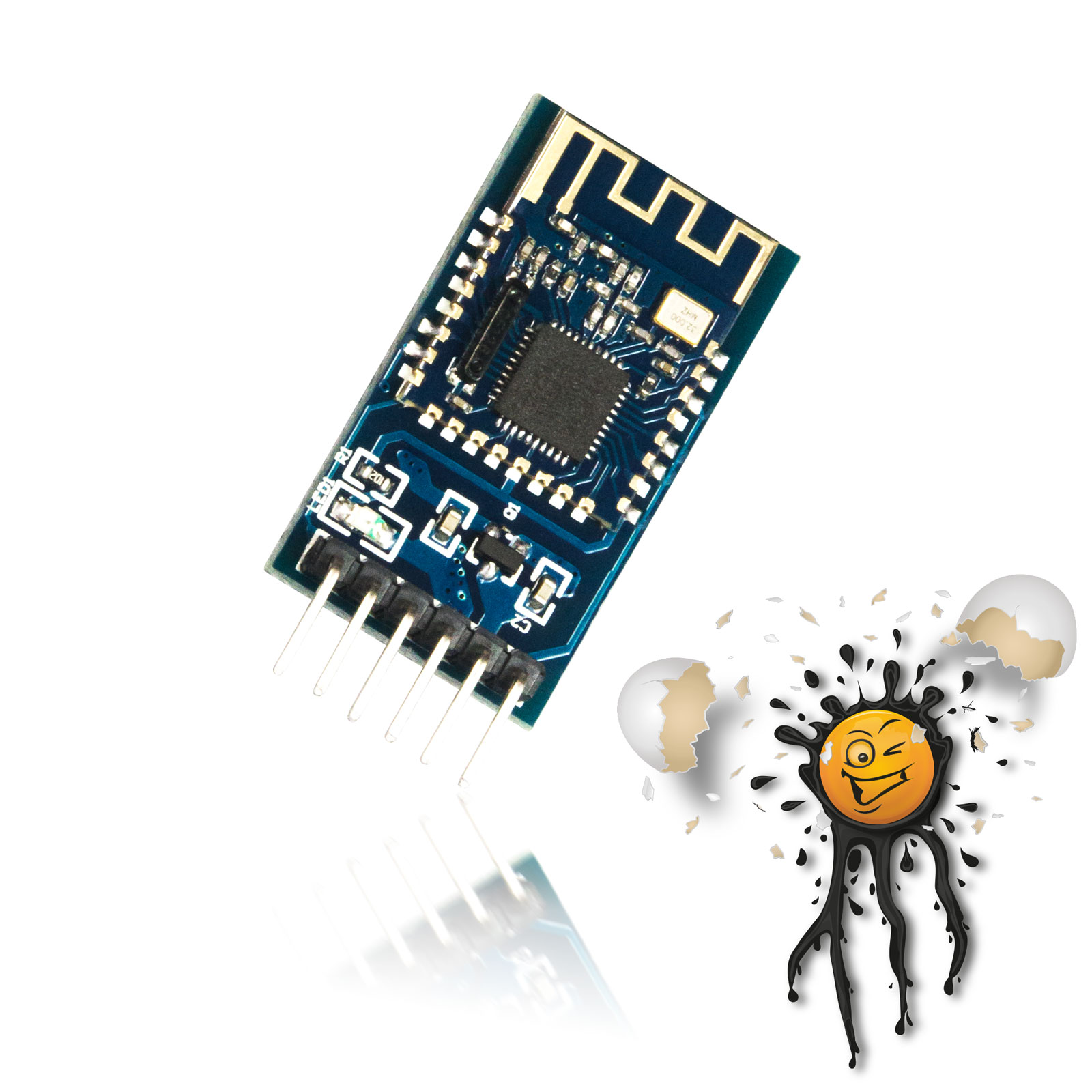 Bluetooth JDY-08 Modul mit RS232 Adapter