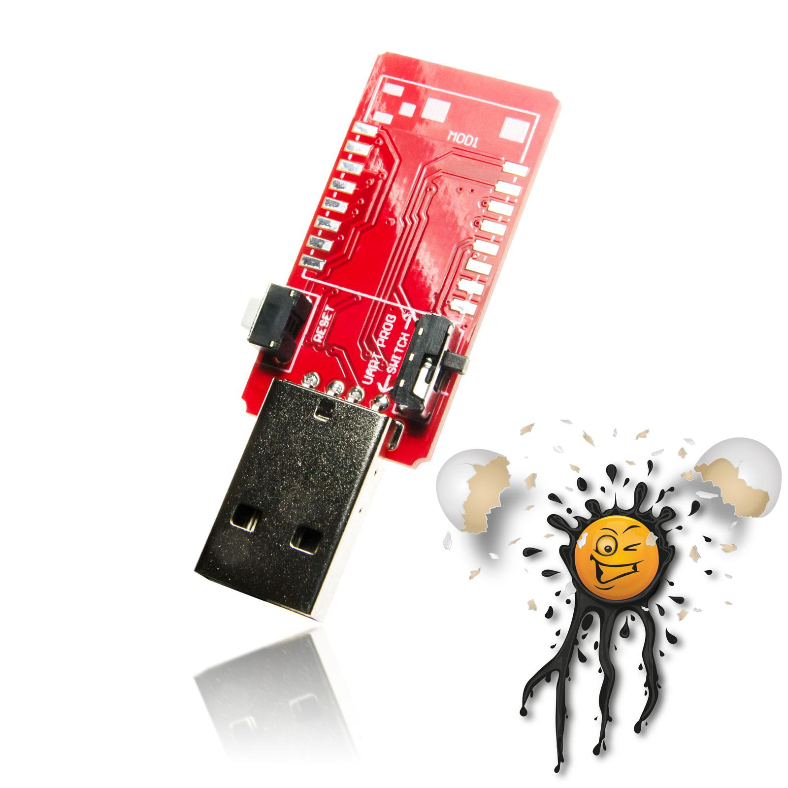 ESP8266 CH340 USB TTL Konverter Board