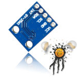 GY-2561 Luminosity- IR Lux Sensor Pin Out