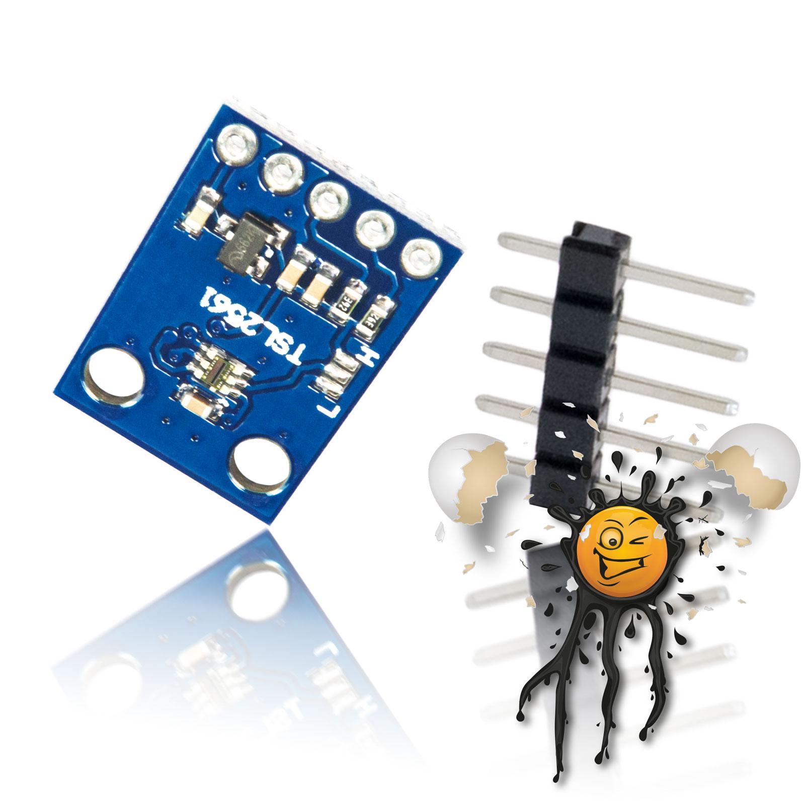 Helligkeitssensor TSL2561 mit Pinleiste
