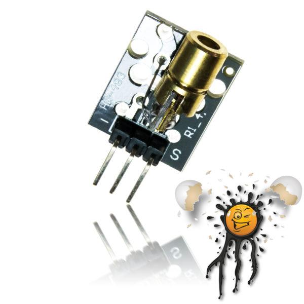 5V NIR 650nm Laser Diode Modul 5mW