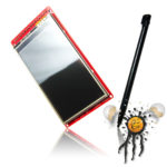 3.0 inch Color Touch Screen mit Pen