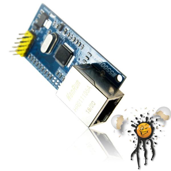 WIZNET W5500 Ethernet SPI Adapter TCP UDP RJ45