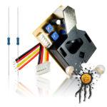 Feinstaub Sensor Modul DSM501 mit 2 Ausgangssignal