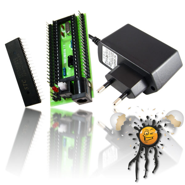 STC12C5A60S2 8051 80C51 MCU Entwickler Set