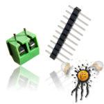 Pinleiste Schraubenklemme Spannungs- Strom- Sensor INA219