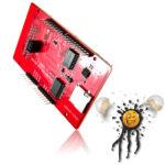 3.2 Touch Display mit SD Kartenleser und Temperatursensor