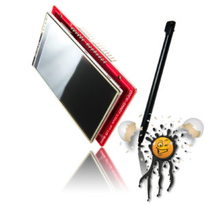 3.2 I2C SPI Touch Display inkl. Touch Pen