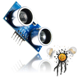Ultraschallsensor SRF05 2-450 cm 2 mm Auflösung