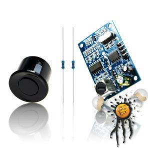 JSN-SR04T Ver. 2 TTL Ultraschallsensor Set wasserdicht