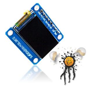 0.96 80 x 160 SPI RGB Color Display