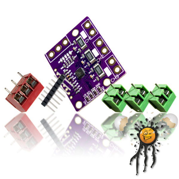 INA3221 Stromsensor 3 Kanal Modul