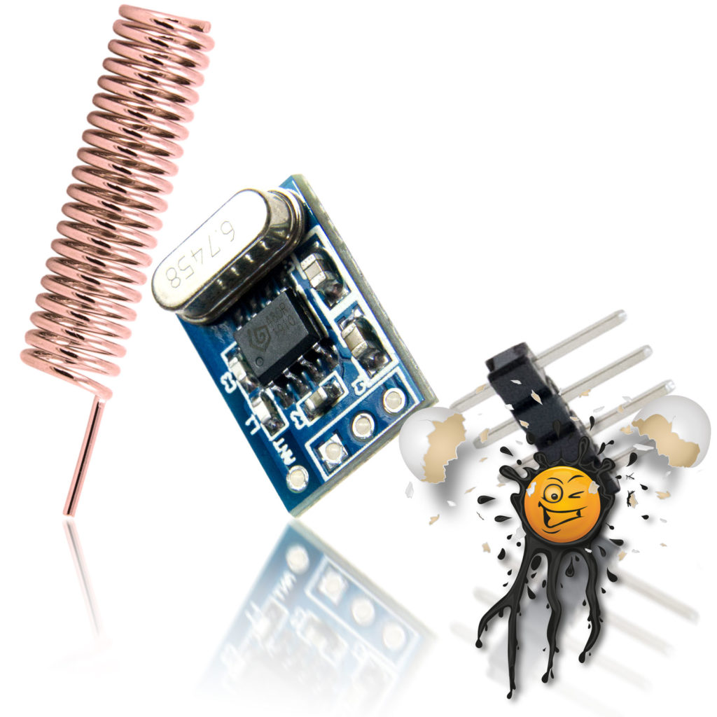 RF ASK Module Set incl. Antenna