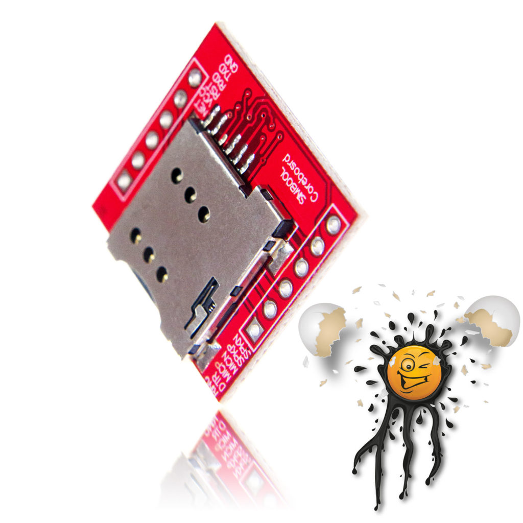 SIM800L Card Reader Quad Band GSM Modul