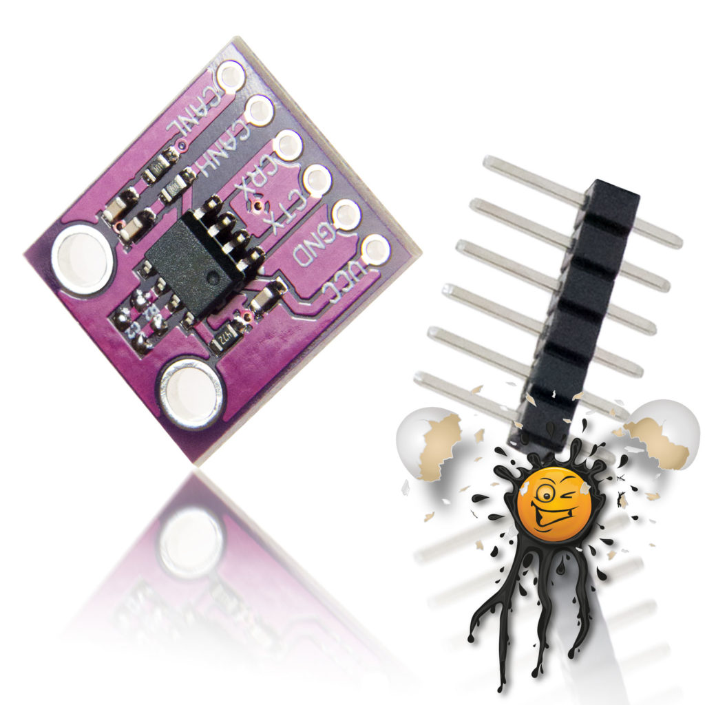 Mini CAN to UART Module MV2551