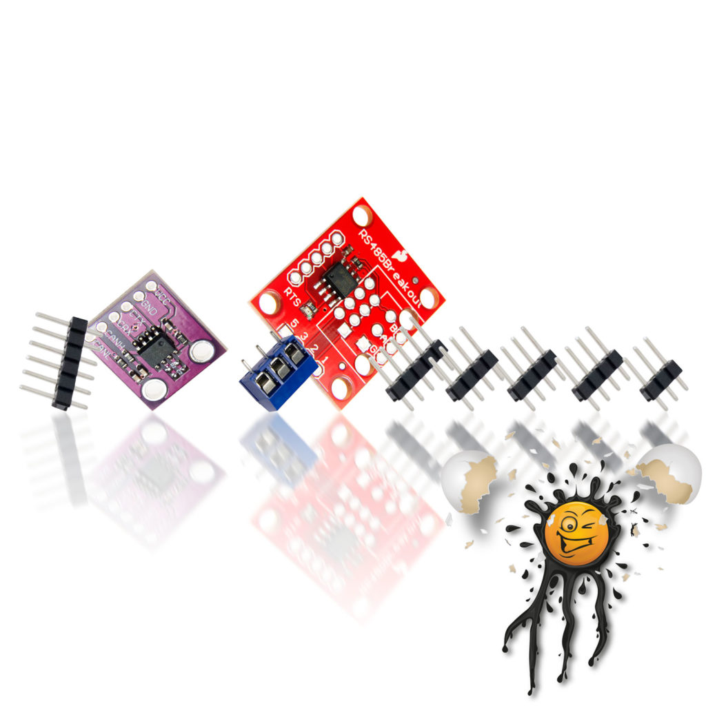RS485 RS422 CAN to serial Converter Module Sets