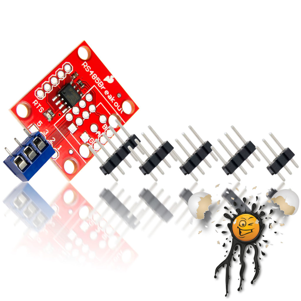 SP3485 to serial Converter Module Set