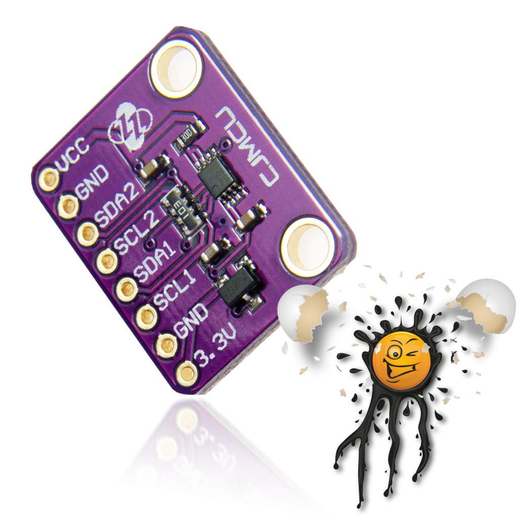 PCA9306 Voltage Level Converter Module Board