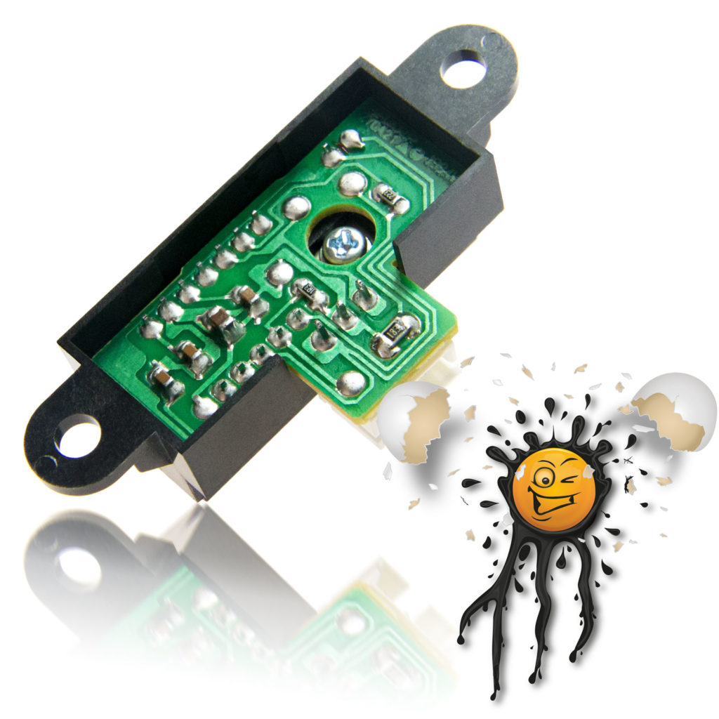 Sharp GP2Y0A analog IR Distance Sensor Module