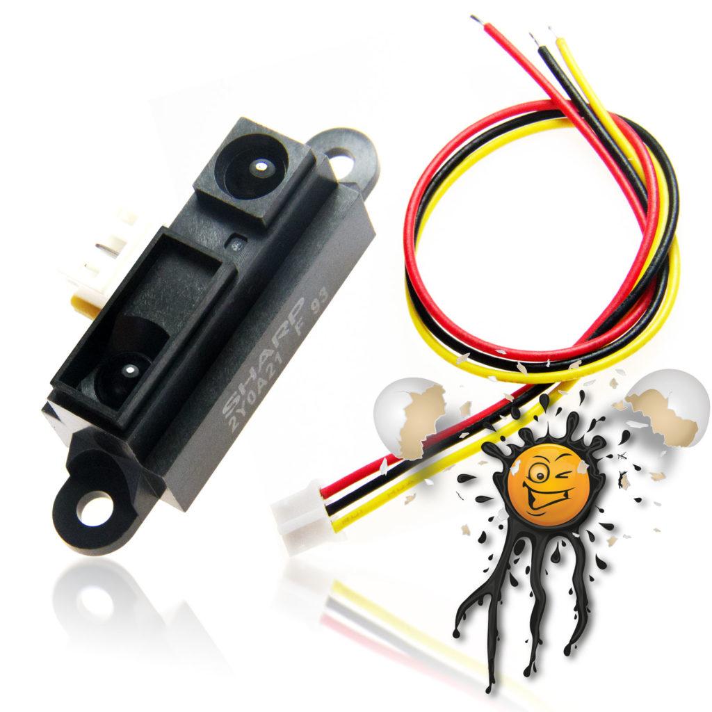 Sharp GP2Y0A IR Distance Sensor Module incl. 20 cm wire