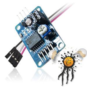 PCF 4 channel AD DA Converter Module incl. Dupont Wire
