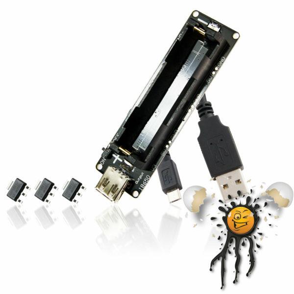 Arduino ESP STM USB USV Set 5 items incl. USB Cable