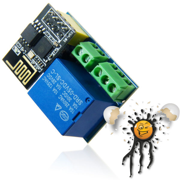 IoT Smart Home MQTT Tasmota ESP-01 Relay Module