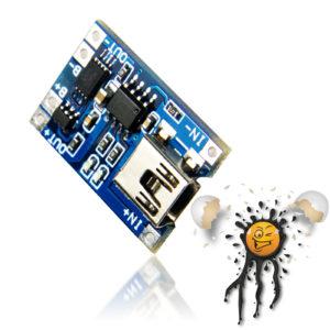 TP4056 USB Mini Li Ion Charger Protect Module
